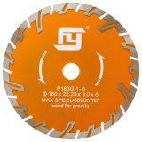 Холодный тип диск Turbo давления вырезывания для среднего трудного гранита