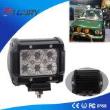 Offroad LED Lightbar 18W Lámparas de conducción de trabajo para el remolque