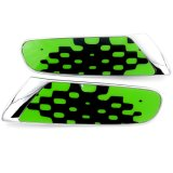 소형 술장수를 위한 크롬 선명한 초록 보충 측 램프 덮개
