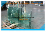 Het goedkope Duidelijke Aangemaakte Glas van de Deur