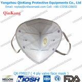 Máscara de papel ativada subministro médico da válvula da poeira N95 de Ftilter da caixa