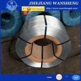 Fil galvanisé par Q235 en métal/fil obligatoire pour la construction