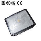Luz fresca del pabellón de la gasolinera del blanco 50W 70W 100W 120W LED con UL Dlc 5 años de garantía