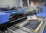 Le coton simple de couleur enregistre la machine sur bande d'impression d'écran avec la largeur de 30cm