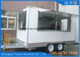 rimorchio mobile incluso di concessione dell'alimento della vetroresina di 3.9m