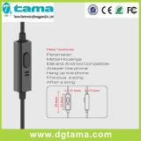 De Hoofdtelefoon Verre Mic van de Oortelefoon van de Legering van het aluminium voor iPhone van Xiaomi Samsung