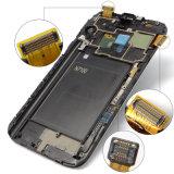 Visualización de los vidrios del LCD del tacto del teléfono celular para la nota 2 (XSLS-015) de la galaxia de Samsung