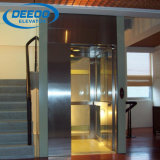 싼 가정 별장 상승 작은 유리제 가정 엘리베이터
