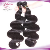 Extensions malaisiennes de cheveux humains de Vierge d'onde de bonne qualité de corps