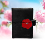 PU Leather Note Book Flower Shape