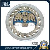 Монетка сплава цинка заливки формы с акриловым случаем монетки