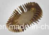 Disipador de calor de aluminio de anodización de la protuberancia de la aduana 6061