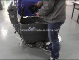 Werkstatt-Weg hinter Fußboden-waschenden Wäscher-Trocknern