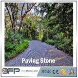 Basalto/ardesia neri naturali/caduto/arenaria/Porphyr/cubi pavimentazione del granito/pietra di pietra lastricatore/dei ciechi/pietra per lastricati