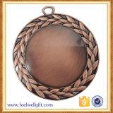 工場卸し売り真鍮の習慣の第1第2第3スポーツメダル