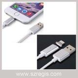 Línea de carga magnética para el cable del cargador del teléfono móvil Cable del USB
