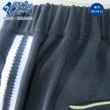 Pantaloni lunghi del tasto delle Posteriore-Caselle di modo nero delle signore