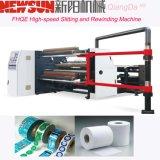 Papel Fhqe-1300 de alta velocidade que corta e máquina do rebobinamento