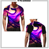 2017 Custom Prinbled Sublimated Mens Rash Guard