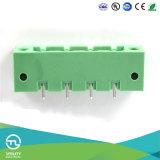Прямой держатель панели фланца с волочениями припоя с отверстием для разъема провода