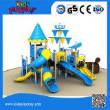 Corrediças grandes do campo de jogos ao ar livre barato original das crianças do projeto para a venda com alta qualidade