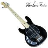 Musique de Hanhai/guitare basse électrique chaînes de caractères gauchères du noir 4