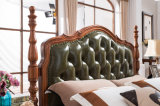 Neue Entwurfs-festes Holz-Möbel-amerikanisches Land-Art-Schlafzimmer-Set (AD811)