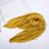 Sciarpa normale del cachemire del quadrato di colore di modo in acrilico di 100% (HP10)
