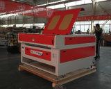 Gravador automático do laser de Ce/FDA/SGS para a borracha/couro/madeira compensada