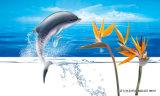 Panneau UV sautant de modèle de dauphin prix chauds de ventes des meilleurs pour la peinture à la maison de décoration