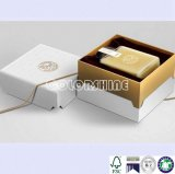 Rectángulo de regalo Lidded de papel del embalaje de la alta calidad