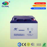 Oliter selou a bateria acidificada ao chumbo de 50ah 12V