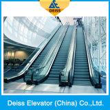 Superior de pasajeros automático cubierta paralelo Escalera mecánica Pública Colocado