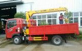 4X2 Sinotruk 3 tonnellate di camion di 3t con la gru idraulica da vendere