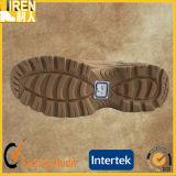 快適なスエード牛革安いメンズ安全靴の軍の戦術的な砂漠ブート