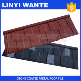 Wante поставляет медь крыши плитки крыши/покрынную песком плитку крыши металла