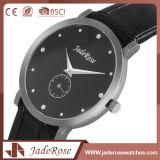 Charme-Form-Leder-Armbanduhr für Damen