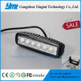 크리 사람 LED 플러드 스포트라이트 18W 일 모는 표시등 막대 12V