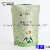 Раговорного жанра мешок Doypack алюминиевой фольги с застежкой -молнией для высушенного чая цветка/плодоовощ