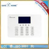 Sistema de alarme sem fio esperto do assaltante GSM/SMS da segurança Home