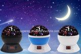 7 Lichte Lamp van de Tijdopnemer van de Nacht van de Projectie van de Hemel van de LEIDENE de Veranderde Ster van Kleuren Draaibare