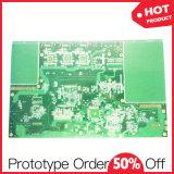 Электронное изготавливание подряда Fr4 через PCB отверстия
