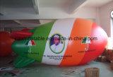 Annonçant le ballon dirigeable souple gonflable d'hélium de PVC de 4 mètres à 10 mètres pour la promotion