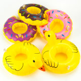 Bedrijf Promotion of pvc of TPU Inflatable Doughnut Can Holder van Party Floating