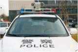 videocamera di sicurezza di IR PTZ di visione notturna dello zoom 100m di 2.0MP 20X per il volante della polizia