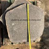 Pavimentação de pedra natural do basalto preto, ajardinando o granito que pavimenta a telha