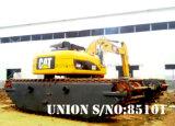 Excavador anfibio hidráulico del gato 320d (20t)