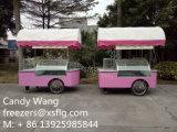 販売のためのイタリアのアイスクリームのショーケースのフリーザー