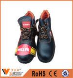 Ботинки промышленной обеспеченностью ботинок работы масла ботинок безопасности полесья упорные