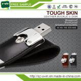 Migliore azionamento del USB del USB 8GB del cuoio del regalo di affari